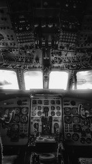 Mission Control (Mark.L.Sutherland) Tags: missioncontrol nimrod aeroplane plane war bomber cockpit dails controls blackandwhite windows bw mono monochrome inside abandoned derelict forgotten marksutherland samsung smartphone androidography galaxys7 cellphone phoneography cameraphone dark pasttimes