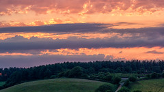 Peak Hill (robhillsphoto) Tags: landscape landscapephotography sunset sidmouth devon clouds