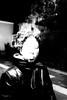 (willy vecchiato) Tags: street strada portrait ritratto man people smoke fumo smog night notte fineart occhio eye blackandwhite biancoenero monochrome monocramatico dark noir 2017 fuji x100s strange sigaro cigarettes cigar viso face faccia grainy grain grana