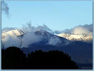 Le matin des premières neiges de la saison sur le massif du Canigou - Explore 10/11/2017