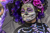 Day of the Dead Parade in Mexico City (_aires_) Tags: aires iris cfp catrina paintedface skulls skeletons portraits canoneos5dmarkiii canonef70300mmf456isusm mexico mexicocitymexico feathers roses parasol bones costume
