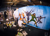 Justice League - Ben Heine Live Art (Warner Bros) (Ben Heine) Tags: benheineart justiceleague painting peinture film movie art warnerbros project actor character superhero liveperformance cyborg aquaman superman flash wonderwoman batman music drawing dessin cinema ugc kinepolis benheine schilderij schilder liveart factsconvention flandersexpo kinepolisbrussels kinepolisantwerpen barnyard comiccon contemporaryart facts bocaro cyriel vs fox dccomics comics bd sketch colorful artist making exposition exhibition belgium heroes team collaboration artwork artsy color arte traditionalart speedpainting actionpainting arts graffiti grafiti brushes