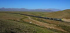Atacama (Sebastián Betancourt) Tags: tren ferrocarril transporte carga ferronor norte rednorte gt46ac hierro trendelhierro vallenar atacama region terceraregion chile desierto huasco minaloscolorados capminería