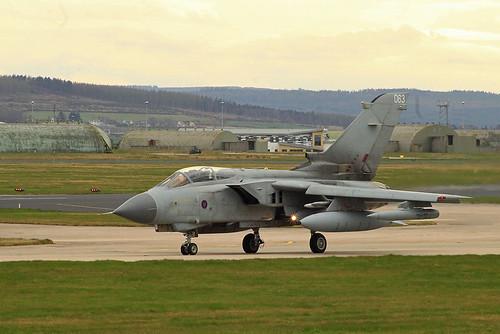 RAF Panavia Tornado GR4 ZA597/063
