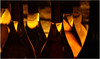 Goulots au goût vin (Pi-F) Tags: bouteille vin liquide lumière répétition contrejour litre flacon récipient nuit sombre cave provence rosé goulot col