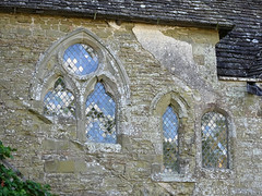 Windows in Stokesay Castle (Dunnock_D) Tags: uk unitedkingdom britain england shropshire stokesay castle