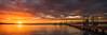 Sunset from Sunset Point (Ray Jennings AU) Tags: sunset sunsetpoint jetty panorama rayjennings nikond810 nikon2470