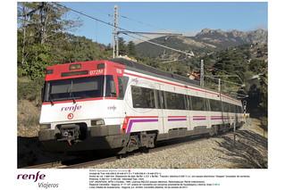 Renfe Viajeros Cercanías - 446-036 - regional de Cercedilla a Segovia - Cercedilla p.k. 20-300