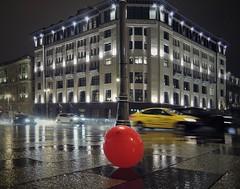 Воздушный шар под дождём. Москва, Россия (varfolomeev) Tags: 2017 россия город улица nikonp340 russia city street