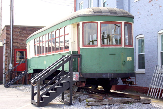 Hagerstown & Frederick Trolley 168