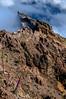 Monataña y Nubes / Mountain and Clouds (López Pablo) Tags: mountain cloud volcano lapalma canaryislands nature nikon d90 tajinaste flower