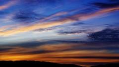 Greenlandic sunset (little_frank) Tags: narsarsuaq greenland sunset setting horizon sky clouds summer light end ending serene peace peaceful nature natural orange blue colorful colourful colors colours beauty beautiful marvel marvelous wonder wonderful grønland north nordic arctic amazing