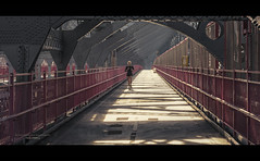 Committed (Nico Geerlings) Tags: williamsburgbridge runner jogger earlymorning architecture bridge pedestrianwalkway ngimages cinematic cinematography nicogeerlings nicogeerlingsphotography manhattan brooklyn williamsburg newyorkcity nyc ny usa