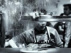london-6-011117 (Snowpetrel Photography) Tags: chinatown london olympusem1 olympusm45mmf18 autumn blackandwhite foodanddrink monochrome nightphotography restaurants streetphoto streetphotography urbanlife windows england unitedkingdom