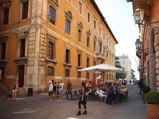 Strolling down the historical centre of Perugia