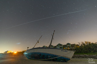International Space Station over the Space Coast