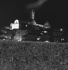 Siena by night ⚫️⚪️ #like #followme #follow #share #comment #siena #tuscany #italy #love #travel #discover #enjoy #landscape #blackandwhite (borghettob) Tags: like followme follow share comment siena tuscany italy love travel discover enjoy landscape blackandwhite