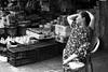 . (Out to Lunch) Tags: waiting for customers ba chieu market saigon ho chi minh city vietnam street selling subsistence eocnomy blackwhite monochrome urban urbanite fuji xt1 1256mm