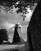 A windmill in York (WISEBUYS21) Tags: windmill york yorkshire dales moors black white sails shadows bunker flour wheat tree cloud hedge lane road best city england east favourite faves great landscape north positive rate sony star top uk village wisebuys21 rose contrasting contrast 04082017 4th august 2017