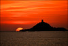 good bye the sun (arno18☮) Tags: ajaccio corse france sanguinaires iles tramonto isole rouge jaune soleil sole sun nuages clouds nikon nwn sunset