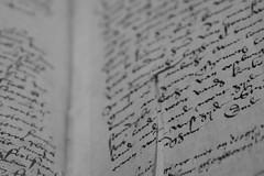 An Ancient Book (majamacanovic) Tags: brugsevrije book ancient old knowledge artefact monochromatic blackandwhite blackwhite bw manuscript minimalism