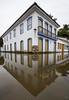 Water and Mirror (Geraldo Tarallo Assis) Tags: water mirror paraty rj rio de janeiro cloudy symmetry architecture house corner wide angle canon mark iv 4 16 35
