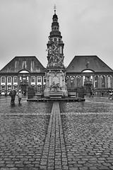 Mannheim Marktplatz b&w (rainerneumann831) Tags: bw blackwhite street streetscene ©rainerneumann urban monochrome candid city streetphotography blackandwhite mannheim markptplatz