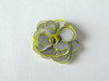 Canary yellow and grey silk rose hair pin (simutes) Tags: silk naturalsilk silkpainting handpainted handmade oneofakind unique jewelry textilejewelry silkart silkartist textileartist elegant delicate soft silkflowers silkroses rose roses flower floral accessories fashion womenfashion giftideas gift present hairpin snappin hairaccessories babyhairaccessories grey lightgrey canaryyellow yellow brightyellow