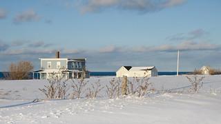 Paysage d'hiver à St-Ulric