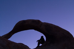 Dancer at Moebius Arche (jgokoepke) Tags: alabamahills astrophotography lonepine california usa