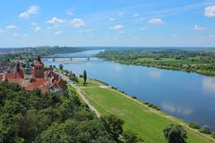 Vistula landscape II (notpushkin) Tags: poland grudziadz vistula weichsel wisla river landscape summer sky