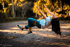 Feel the freedom (pedrocortez1) Tags: freedom nature sunset portrait feeling feel girl otoño orange naranja forrest trees canon eos 77d vans