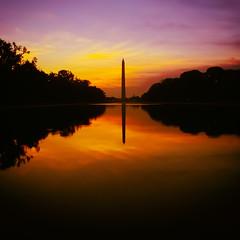 Sunrises Over Washington (Thomas Hawk) Tags: america districtofcolumbia usa unitedstates unitedstatesofamerica washingtondc washingtonmonument sunrise washington us fav10 fav25 fav50 fav100