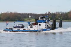 Aquarius (Maurits Freijsen) Tags: rederijdejong duwboot pusher pushboat aquarius nieuwewaterweg rozenburg
