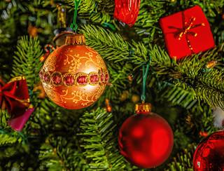Christmas tree ornament Dec 8 2017