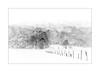 Fence (gwennscott) Tags: fence snow monochrome montain blackwhite