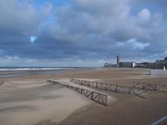 Ostend beach - shifting sands (TeaMeister) Tags: train trains boat interrail seat61 belgium belgian coast ostend tram beach skies sculpture cartoons europe europeanunion unioneuropeenee beer chocolate createyourownstory