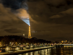 The lighthouse of the Eiffel Tower - Paris