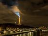 The lighthouse of the Eiffel Tower - Paris (jamessensor) Tags: tour tower eiffel paris light phare night nuit
