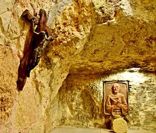 Grotto of St. Jerome, Church of St. Catherine, Bethlehem, West Bank, Palestine