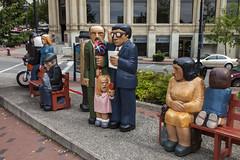 Saint John, New Brunswick (Stephen P. Johnson) Tags: newbrunswick canada places saintjohn sculpture art wood painted