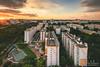 Orange Blocks (swordy84) Tags: cityscape singapore sunset glow hdb evening skyline orange canon 6dmk2 6dmarkii tokina1735mm
