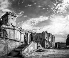 Avignon (Juan Figueirido) Tags: avignon provenza france francia palaciadelospapas arquitectura architecture blackandwhite blancoynegro