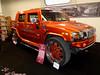 Hummer H2 (911gt2rs) Tags: messe event show ems tuning custom suv orange 28 zoll felgen wheels rims