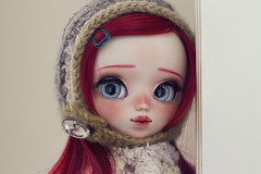 Hi! I'm Miki :D (-Poison Girl-) Tags: pullip pullips custom customs miki poisongrlsdolls poisongirldolls poison girl doll dolls redhead red hair long straight wig white skin skintone natural eyes eyechips blue realistic handmade handpainted repaint repainted paint eyebrows eyeshadow eyelashes freckles pecas nose carving carved mouth lips sweet cute faceup makeup kawaii japan collector stock body junplanning jun planning groove grooveinc for adoption da fa