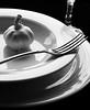classic taste (DeZ - light painter) Tags: monochrome bw blackandwhite bnw hdr plate fork garlic bowl design dez macro