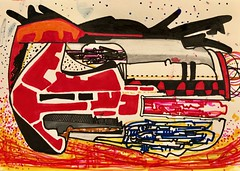 Jim Harris: Untitled. (Jim Harris: Artist.) Tags: art arte kunstzeitgenössische konst drawing drawings zeichnung dessin lartabstrait contemporaryart taide avantgarde space weltraum cosmos astrophysics technology technik