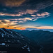 Sunset. West Elbrus