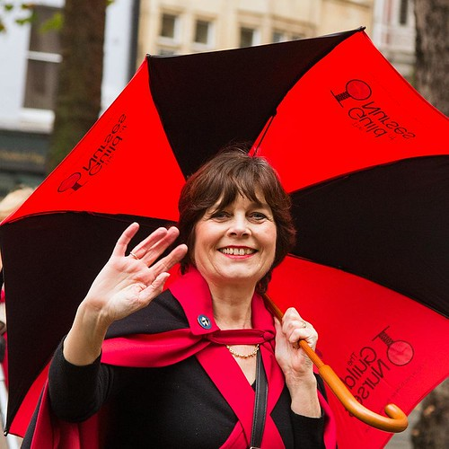 The Guild of Nurses, City of London, Lord Mayor's Show, 11 Nov 2017