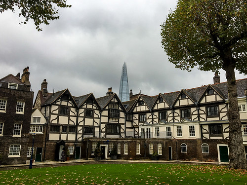Queen's House, with Shard
